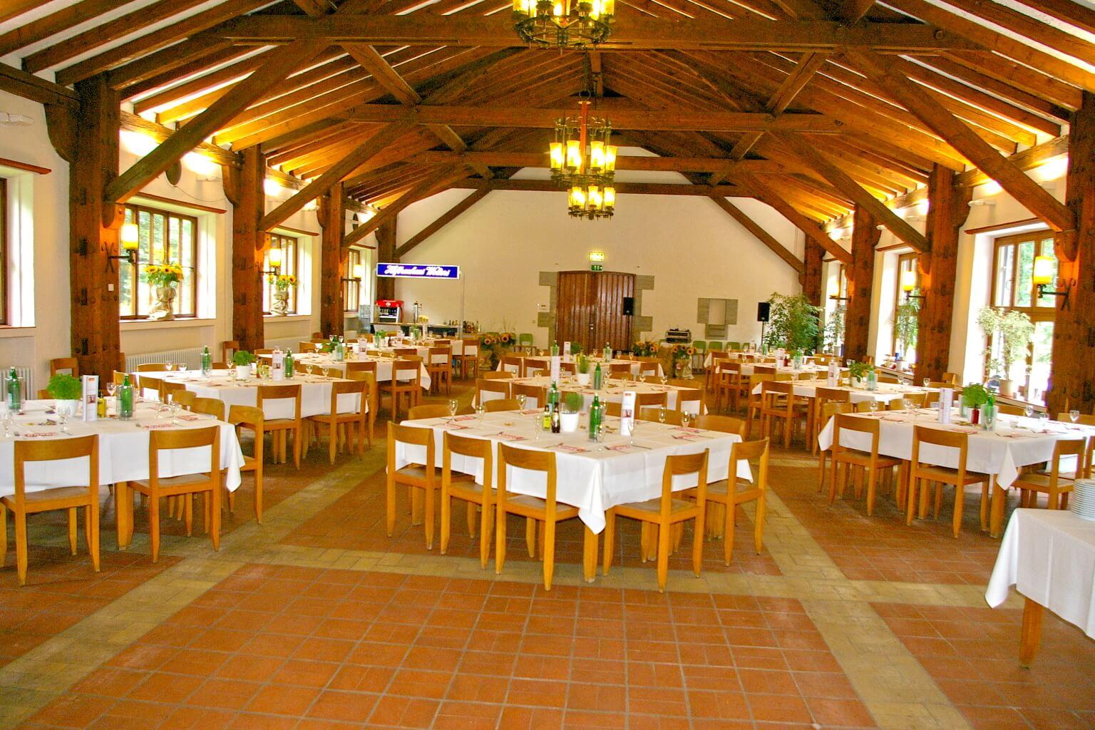Speisesaal für Veranstaltungen